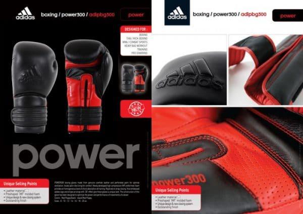 Adidas Power 300 kickbokshandschoenen