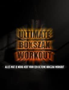 Gratis Ultimate Bokszak Workout bij aankoop van een bokszak of bokspop