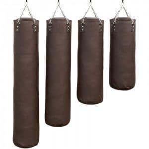 bokszak-PRO luxury-bruin staandebokszakken drb martial arts