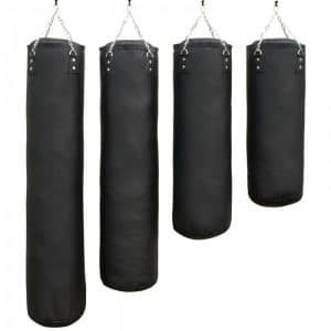 bokszak-PRO luxury-zwart staandebokszakken drb martial arts