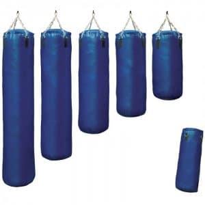 bokszak-classic-blauw staandebokszakken drb martial arts