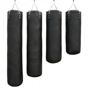 bokszak-luxury-zwart staandebokszakken drb martial arts