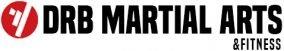 staande bokszakken DRB Martial Arts logo