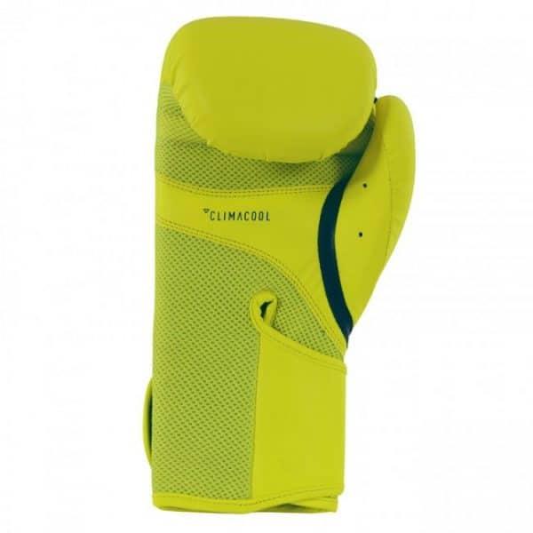 Adidas Speed 100 kickbokshandschoenen geel blauw