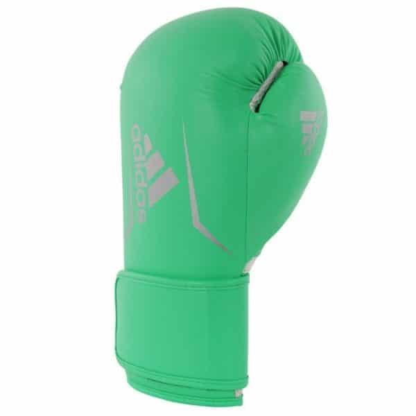 Adidas Speed 100 kickbokshandschoenen Lime Zilver